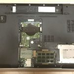 DELL Inspiron 17R Special Edition(Inspiron 7720)のHDDをSSDに交換・その2。